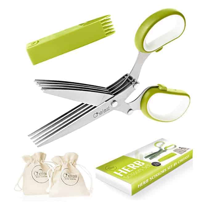 Chefast 5-Blade Herb Scissors