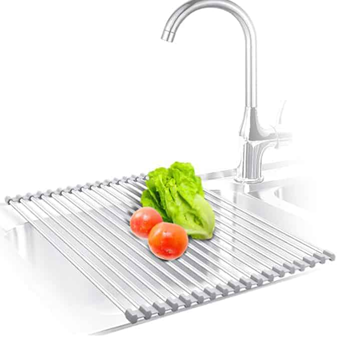 Kibee Over The Sink Drainer Rack