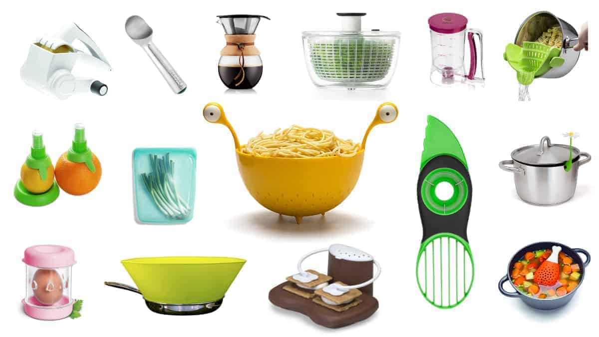 The Ultimate List of 37 Cool Kitchen Gadget Gifts For Home Chefs (All Under $25!)
